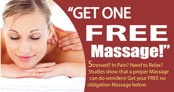 Massage coupon